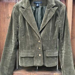 Calvin Klein Jeans Small Forest Green Blazer